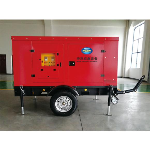 应急排水拖车系统