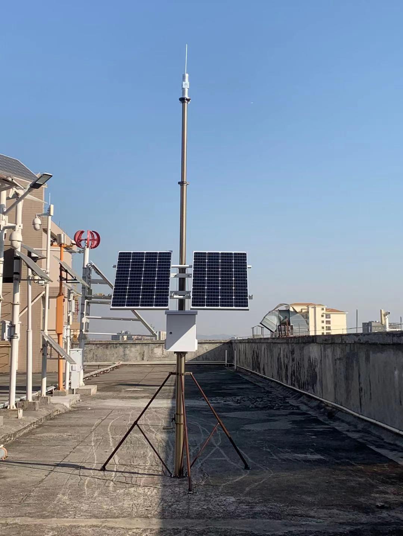 可移动升降太阳能监控供电设备公司组装测试现