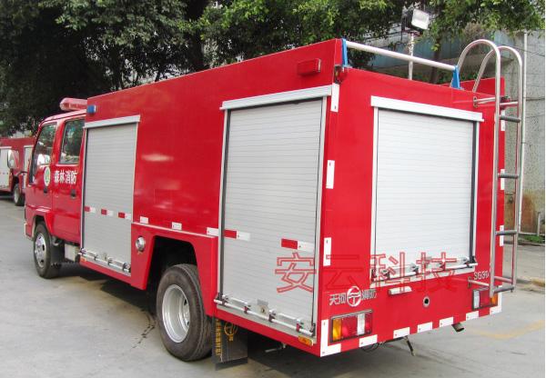 森林消防水罐车