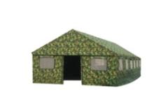 军工加厚防雨工地施工防水帐篷 救灾工程工地帆布棉帐篷
