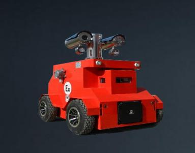 一分钟带你了解防爆巡检机器人