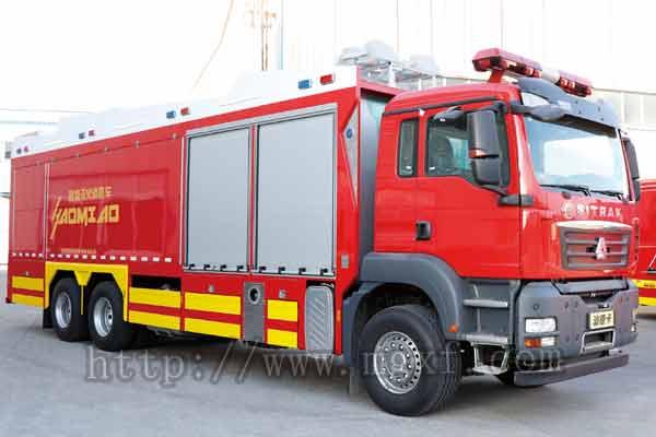 制氮灭火消防车