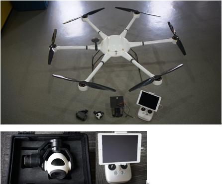 白猫-保卫者警用无人机-平台型号:FS-6MP-z7
