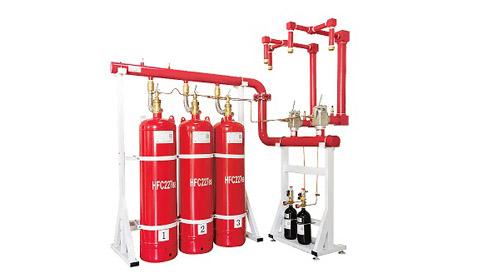 七氟丙烷气体灭火设备在有人时能用吗?