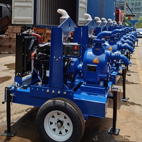 拖车式抽水泵站