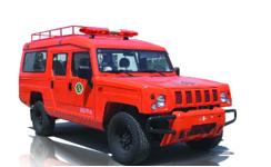 JDF5032XZHB6 型防火指挥车