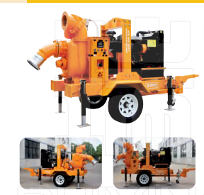 拖车式真空辅助自吸泵车