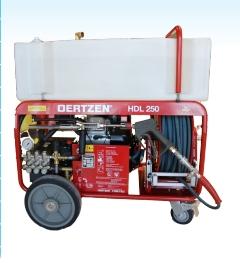 移动式高压细水雾车DL250