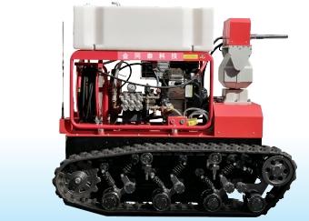 高压细水雾灭火机器人