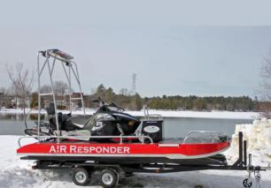 冰域水域救援利器——AIR Responder两栖救援船