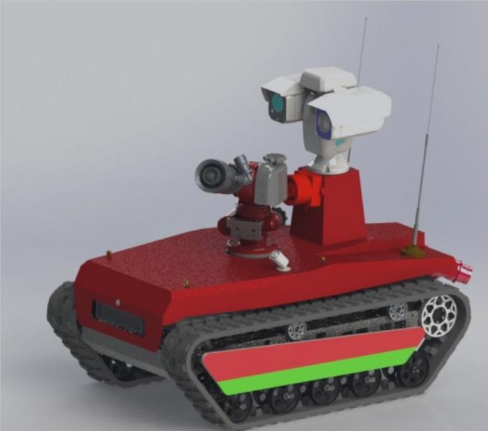 防爆消防机器人
