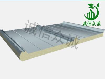 聚氨酯屋面板夹芯板系统